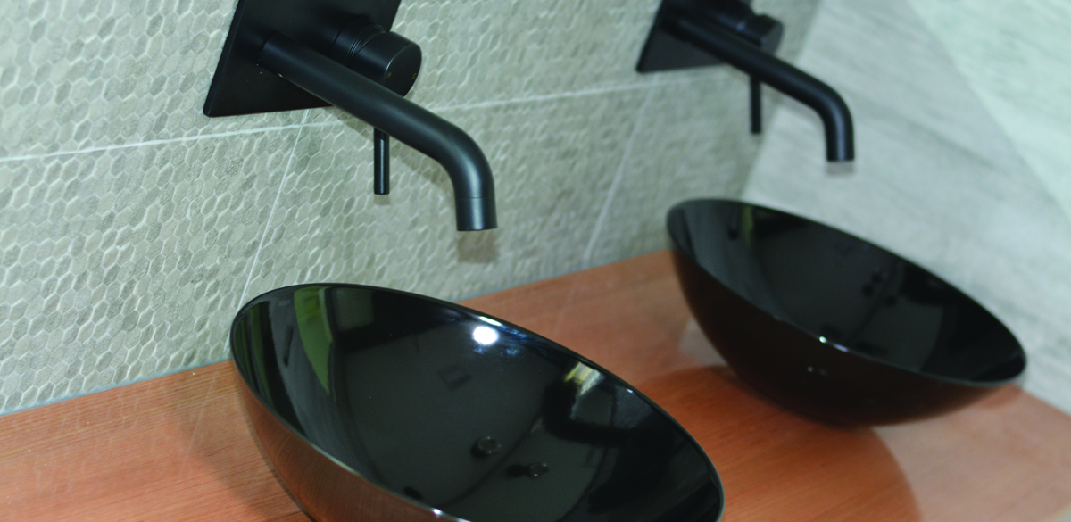 rockhampton ensuite project gallery basins black