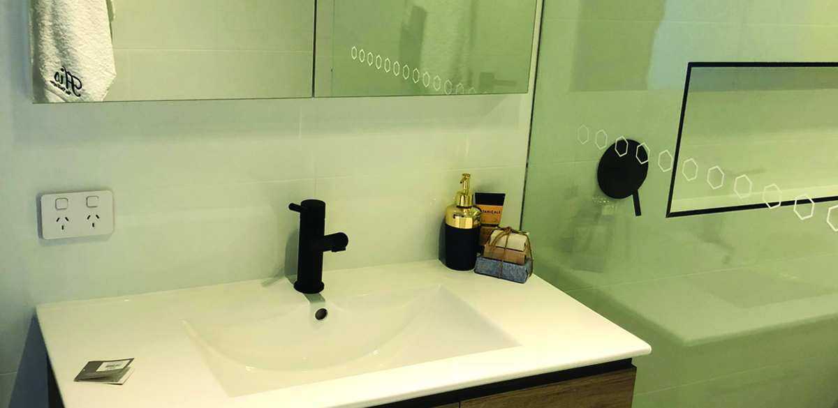 kotara main bathroom project gallery Vanity