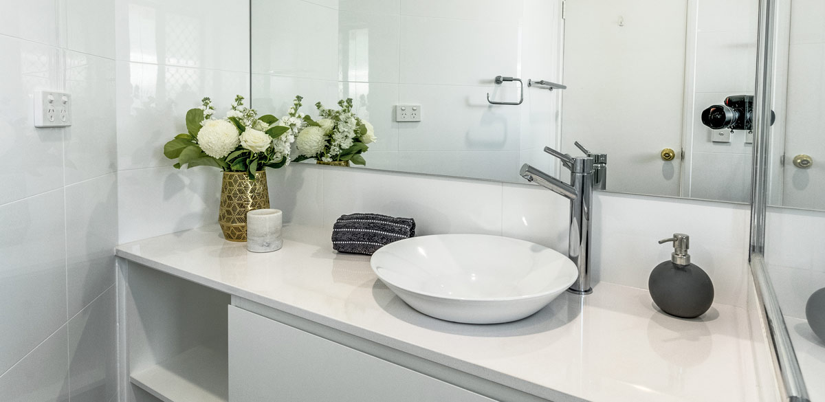 booragoon ensuite project gallery tap chrome