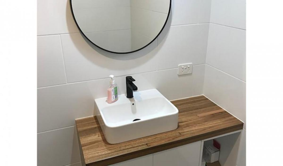 Reece bathrooms gallery matte black tapware
