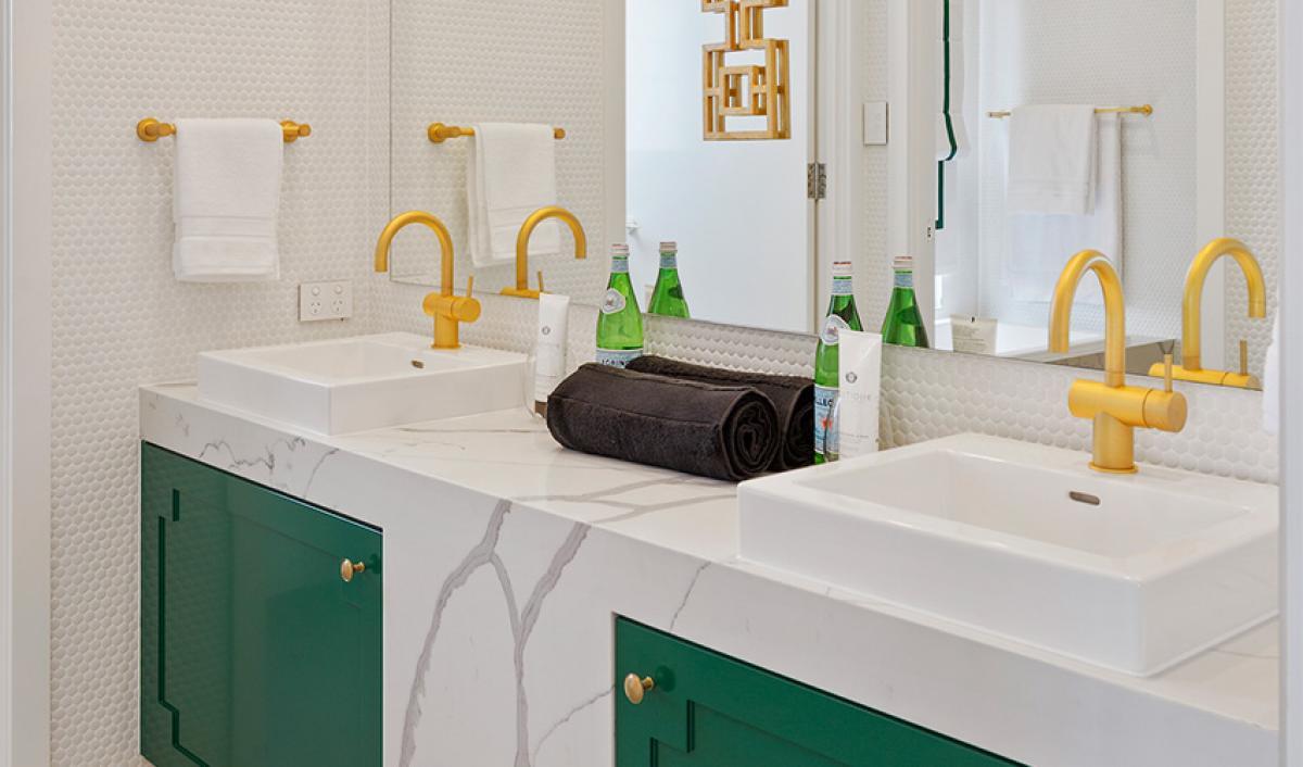 Reece bathrooms gallery double basin sussex scala tapware