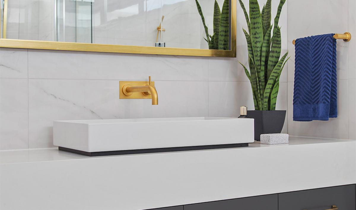 Reece bathrooms gallery ensuite alape glazed basin