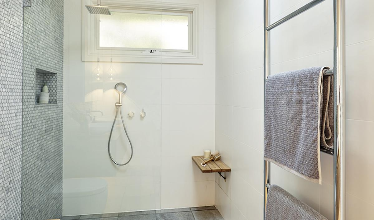 Reece bathroom towel ladder chrome
