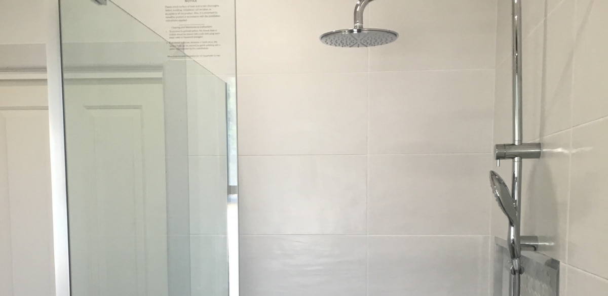 dimboola main project gallery shower
