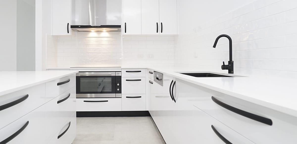 muirhead kitchen project gallery matte black tap
