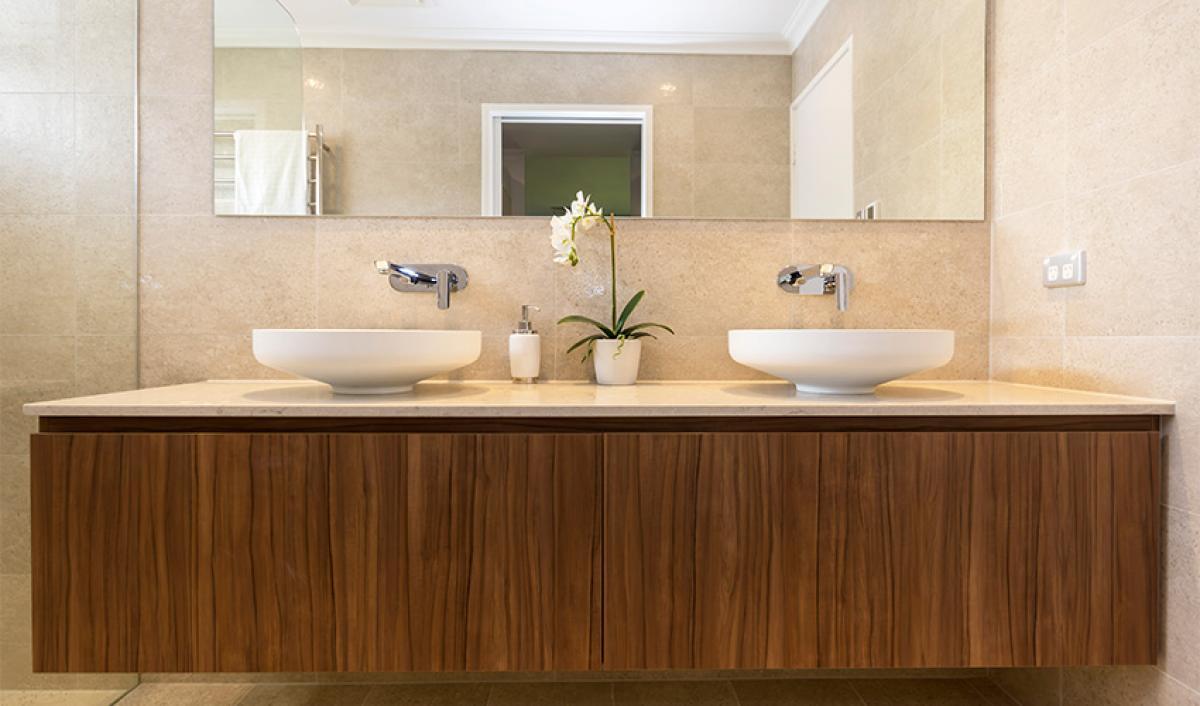 Reece bathrooms gallery double basin vanity unit