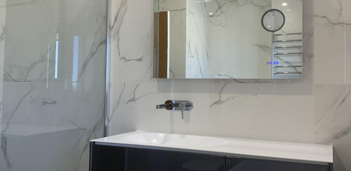 narraweena main project gallery mirror