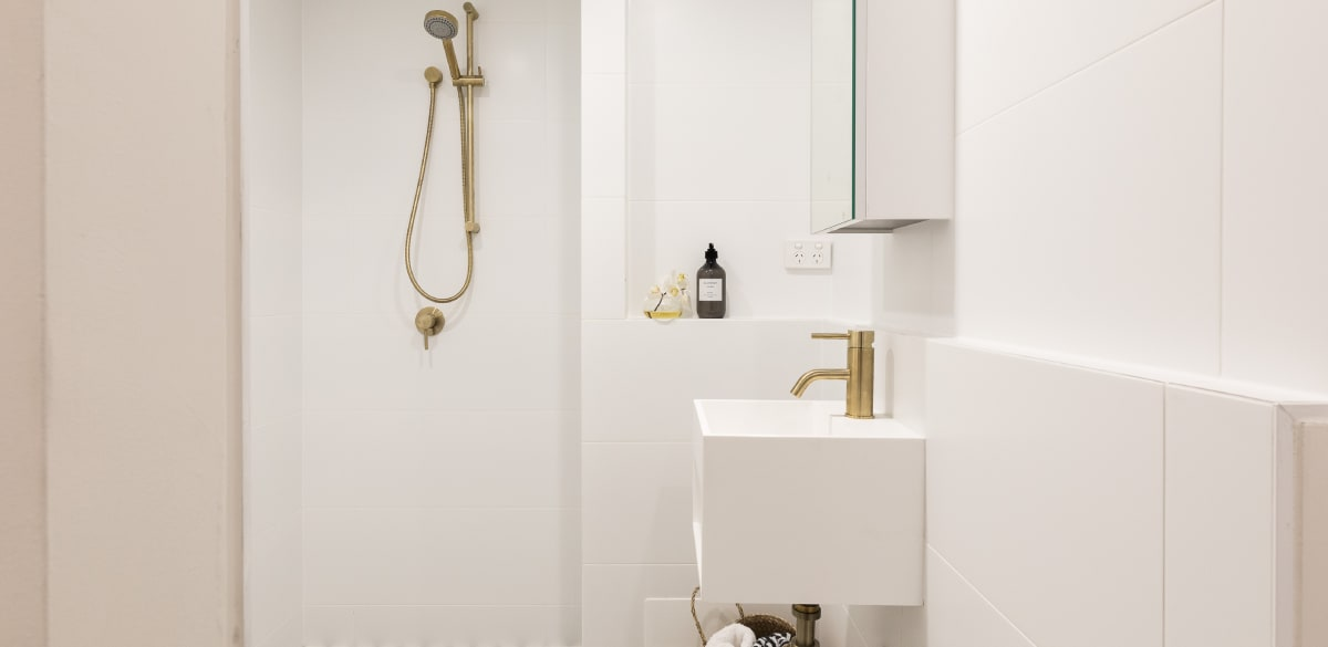 ascot ensuite project gallery gold basin mixer