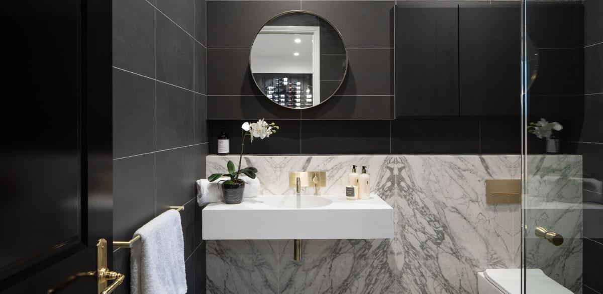 nundah powderroom project gallery gol bathroom taps