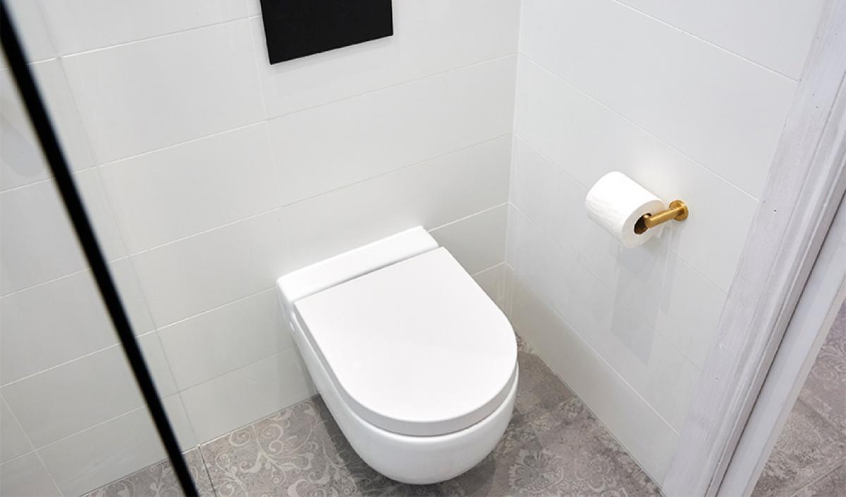 Reece theblock bathroom toilet roll holder