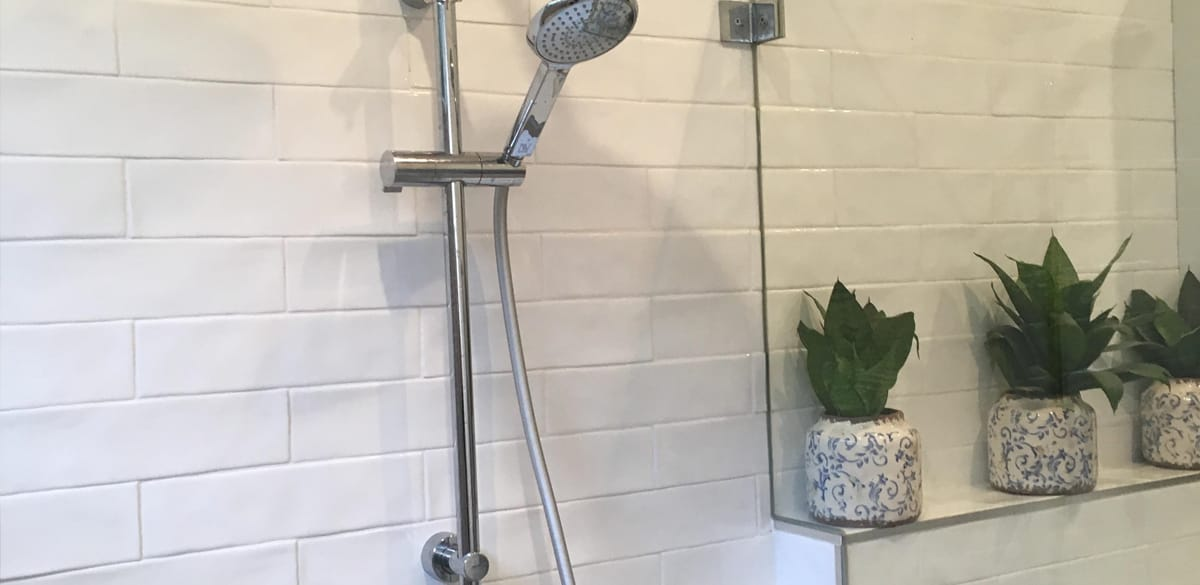 concord west main bathroom project gallery shower chrome