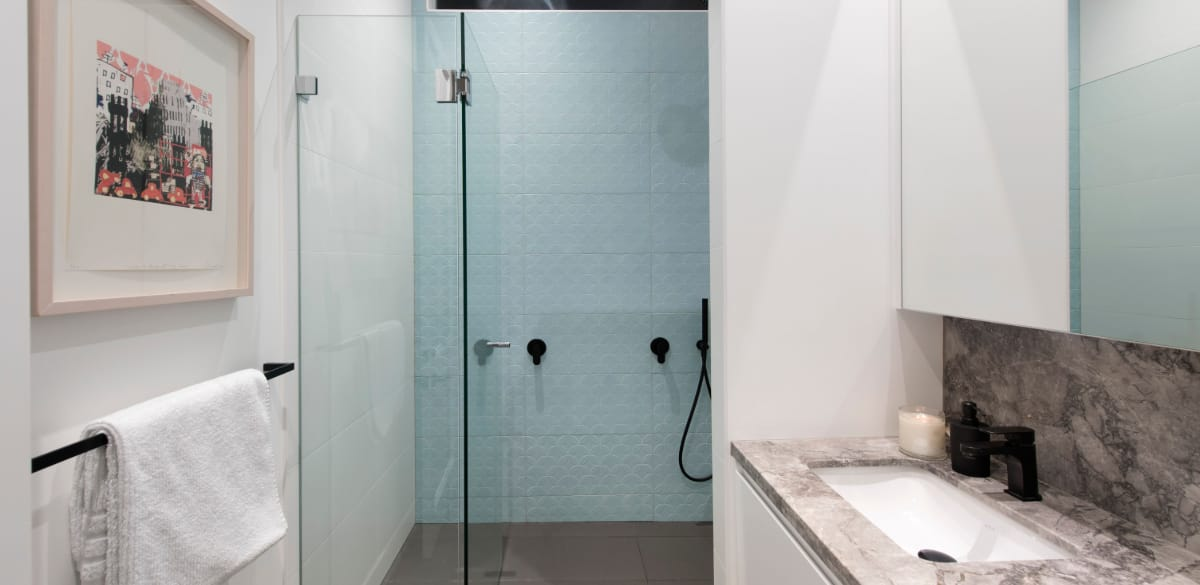 teneriffe main project gallery shower