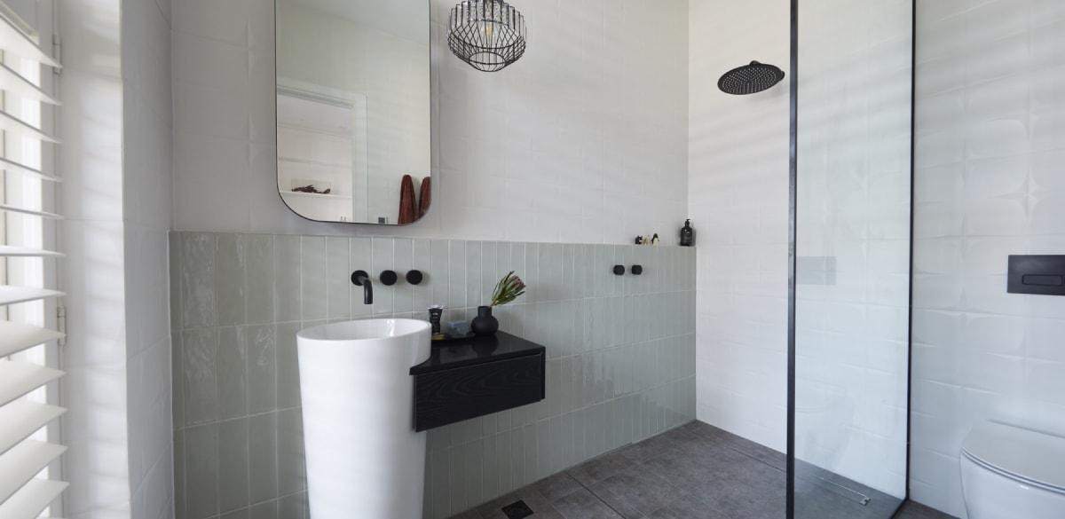 the block winning bathroom reveal elise matt