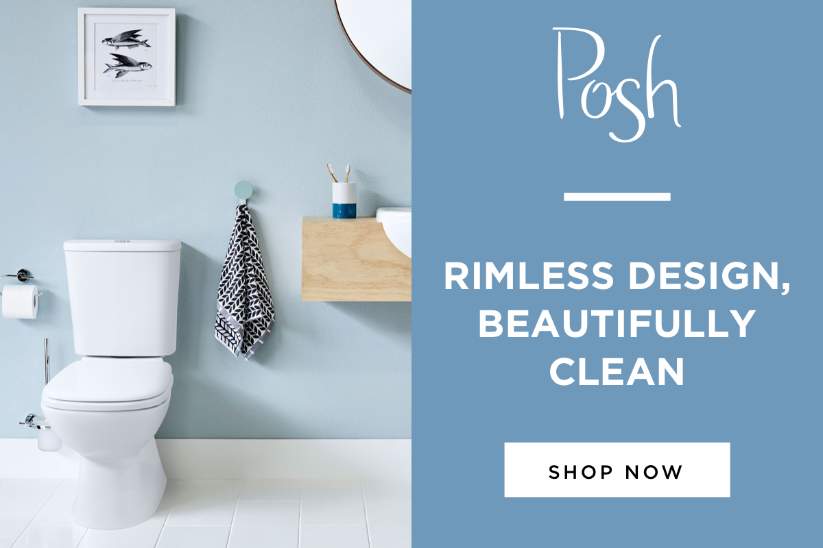 Posh Rimless Toilet