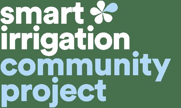 Smart Irrigation Community project logo 576x346