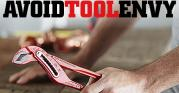 avoid tool envy thumb