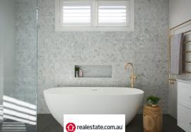 Real Living Magazine renovating bathroom reece