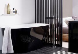 reece bathroom bath black white