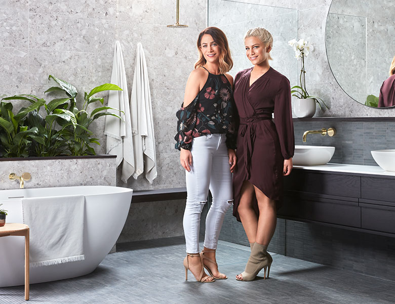 Get the look: Luxe Day Spa with Alisa and Lysandra