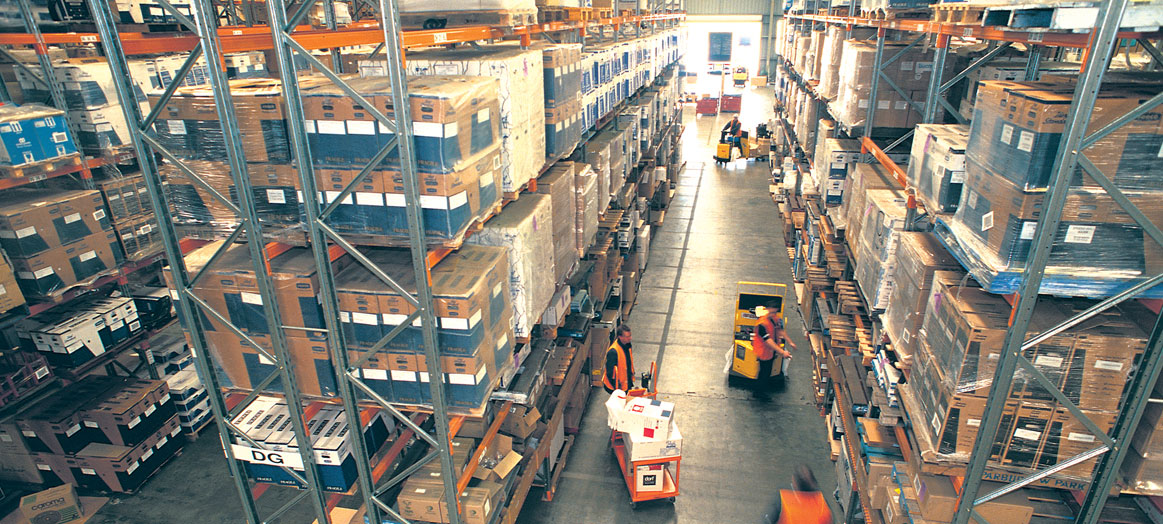 National warehousing and distribution