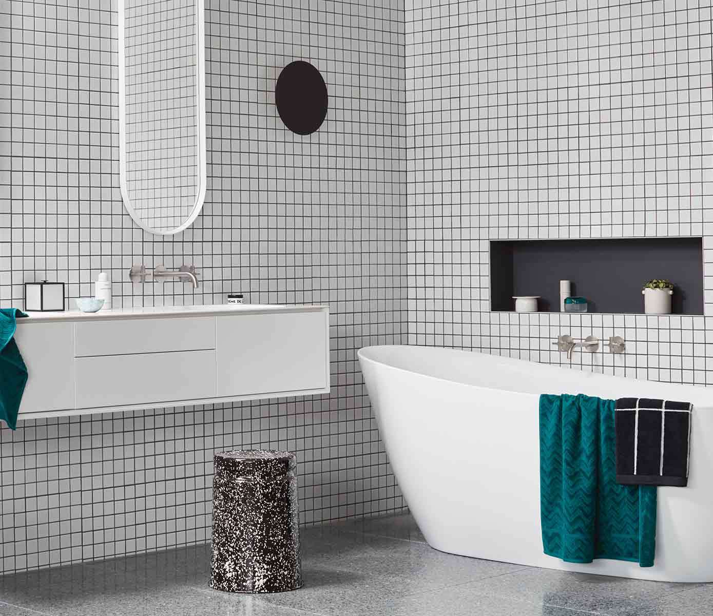 Right Tile Combinations In The Bathroom, Selecting Bathroom Tile
