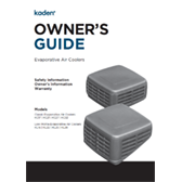 Kaden Owners Guide Evaporative Air Coolers