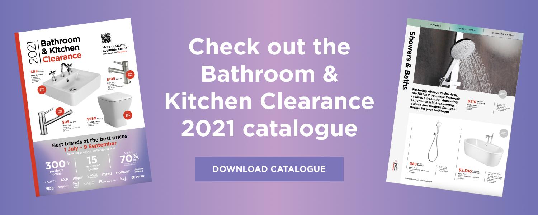 Bathroom Clearance Catalogue