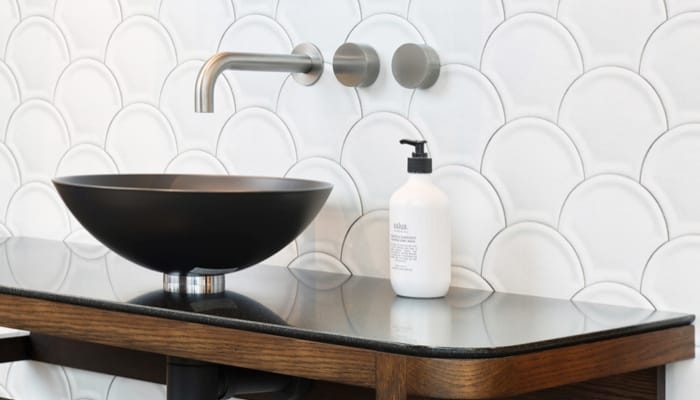 touch and feel bathroom products