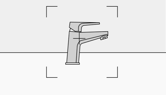 basin mixer chrome tap