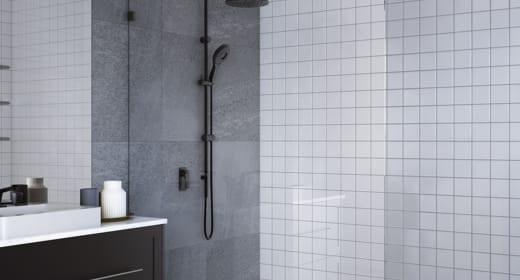 reece bathroom nanokote shower screen