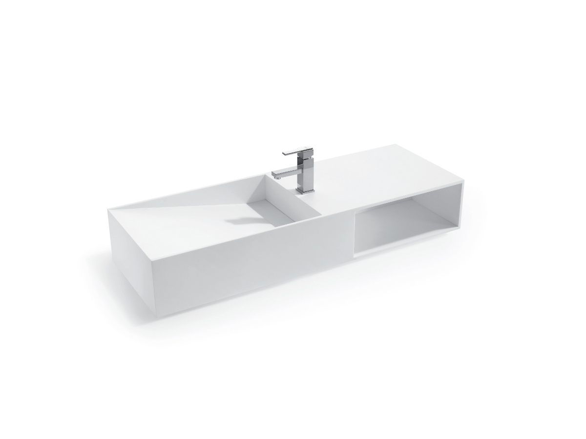 kado aspect 1200 solid wall basin reece