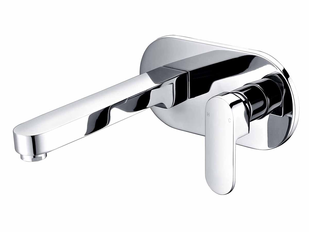 Mizu soothe wall basin chrome reece