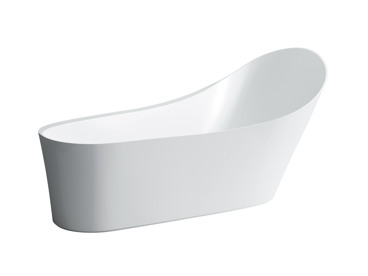 laufen palomba collection solid surface freestanding bath