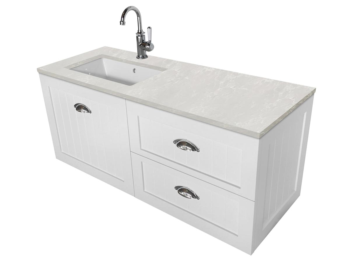 kado era 1200 wall hung vanity unit