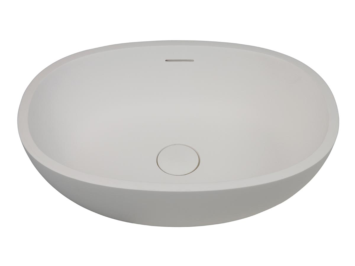 kado lussi 500 vessel basin white reece bathrooms
