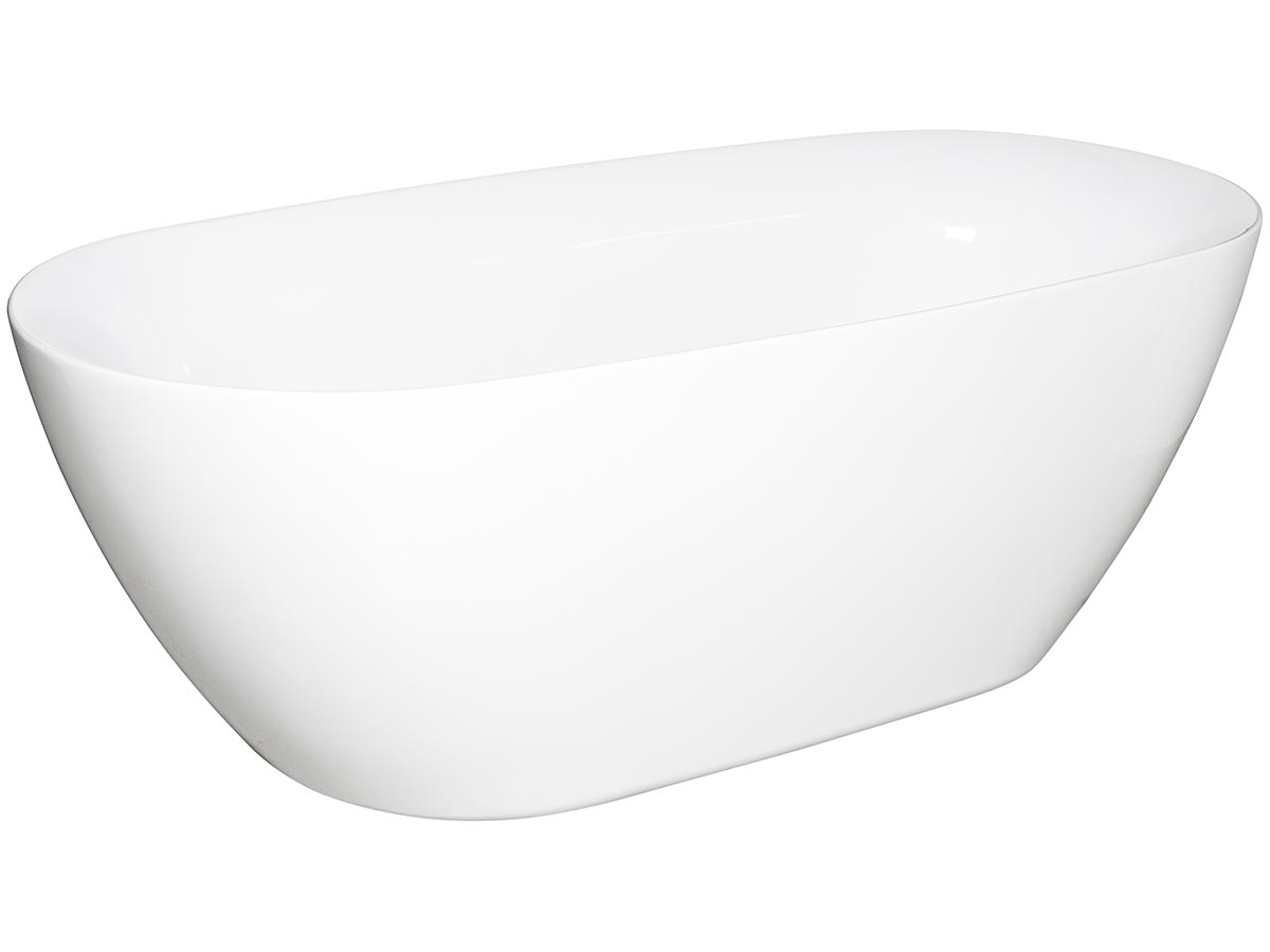 kado lux 1750 freestanding oval bath white 9507795 hero 1