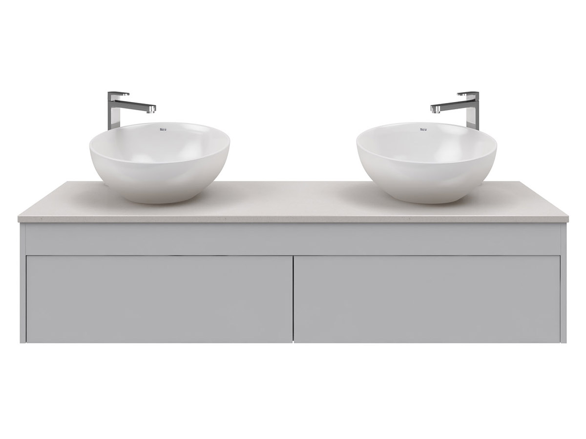 Rifco Acqua 1500 Wall Hung Vanity Stone Top 1791643 hero 2