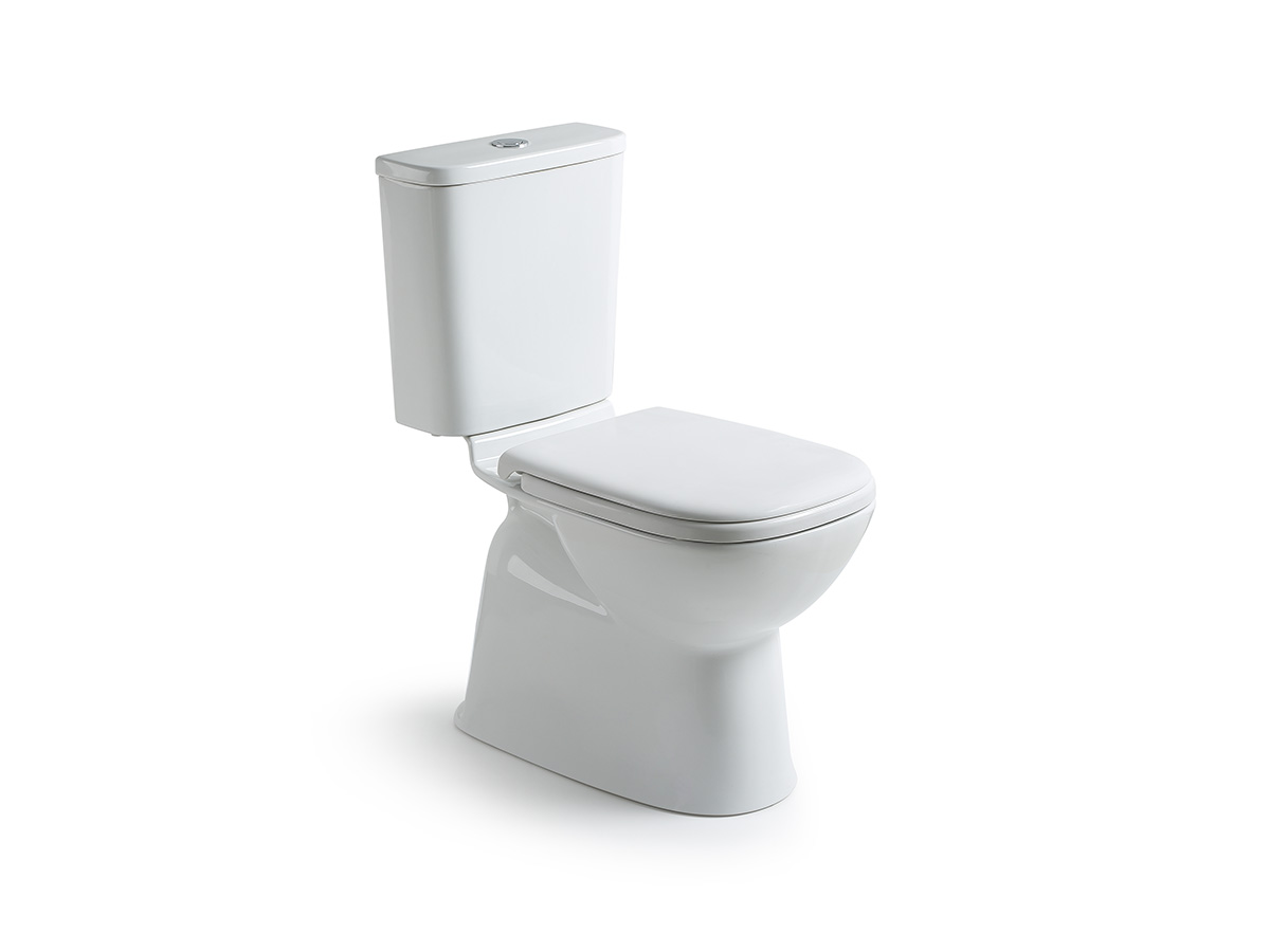 posh domaine close coupled rimless toilet suite reece bathrooms