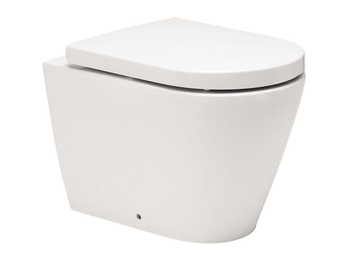 kado lux back to wall pan toilet